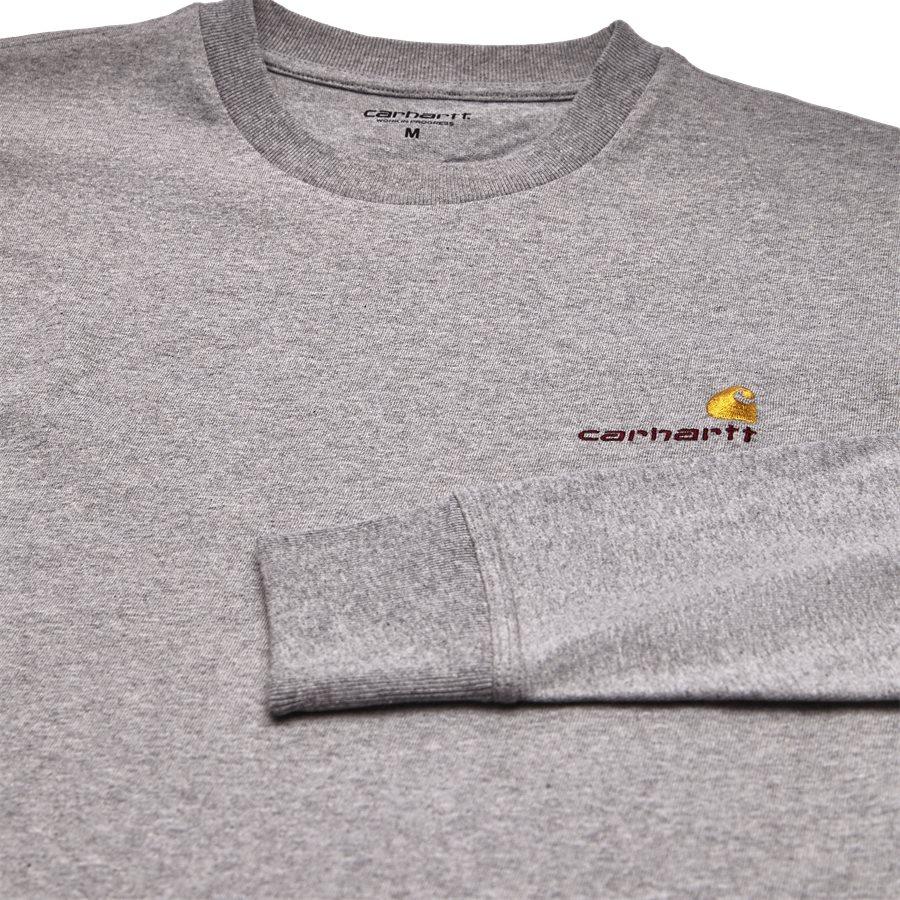 L/S AMERICAN SCRIPT I025712 - L/S American Script - T-shirts - Regular - GREY HTR - 3